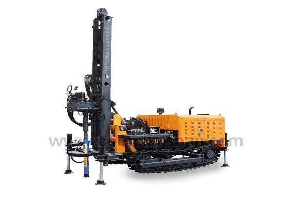 Máy khoan giếng KW180 - gắn động cơ diezel 58kw/2400rpm