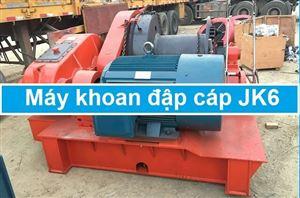 Máy khoan đập cáp JK6